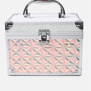 Irridescent/ Holographic Glitter Makeup Case